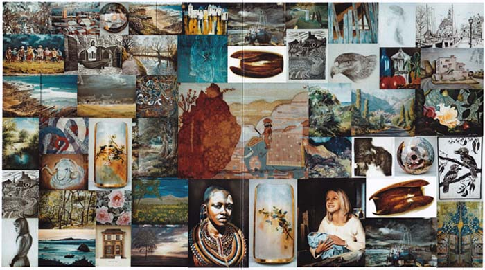 Mosaic of images